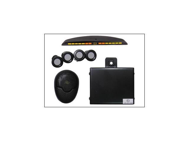 CRIMESTOPPER CA-5018 FRONT PARKING ASSIST SYSTEM W/ LED & PAINTABLE SENSORS NEW