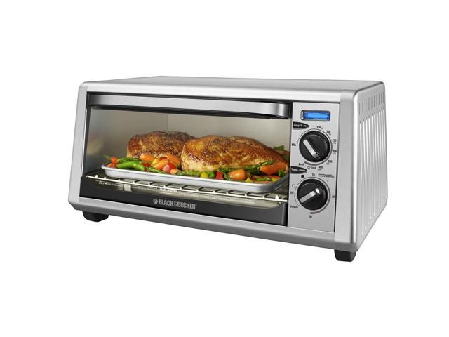 Black & Decker TO1430S 4-Slice Toaster Oven, SS