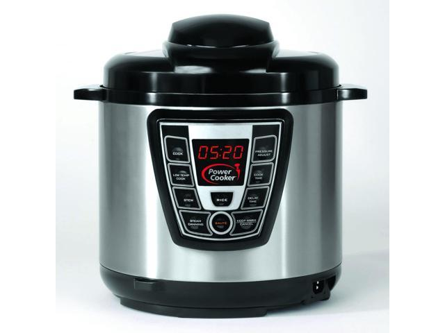 Power Cooker Pro - Digital Electric Pressure Cooker & Canner (6 Quart) As Seen on TV