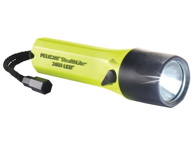 Rechargeable Flashlight, Yellow, LED, 126Lm