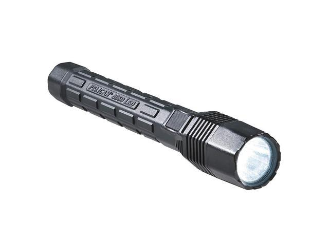 Rechargeable Flashlight, Black, LED, 180 Lm