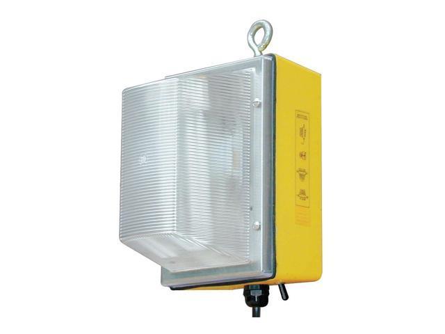 Temp Job Site Light, 120V, 100W, 3400L 300-WL-50-MH