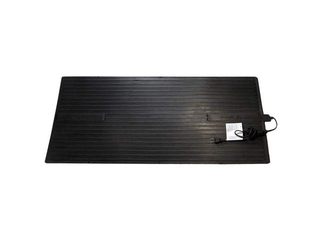 Electric Heated Rubber Mat, 120V, 0.13kW FWL