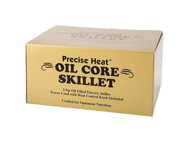 Precise Heat 3.5qt T304 Surgical Stainless Steel Oil Core Skillet