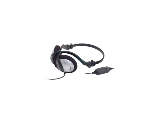 Koss Behind-The-Neck Folding Headphones with In-Line Volume Control KSC-17