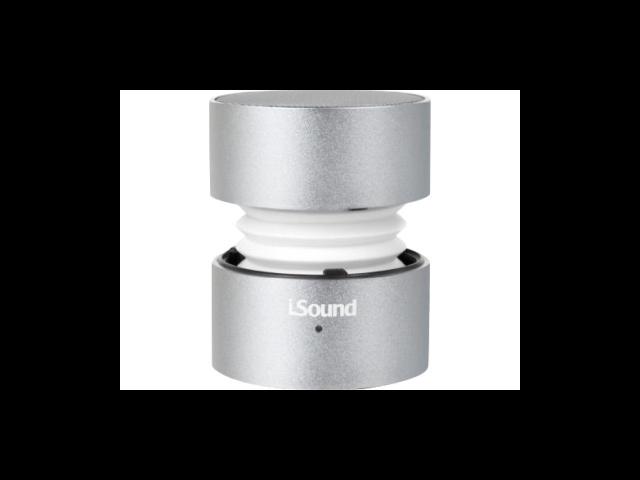 i.Sound ISOUND-5316 1.0 Speaker System - 3 W RMS - Wireless Speaker(s) - Silver