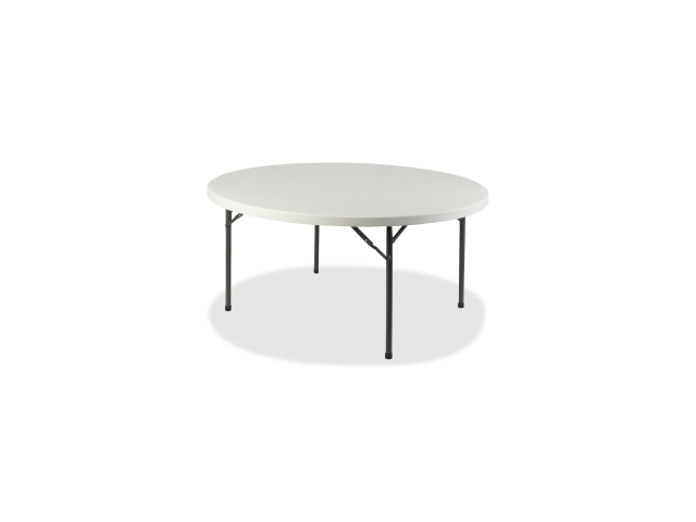 Lorell 60327 Banquet Folding Table Round - 48