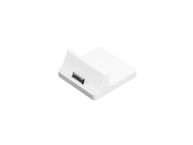 4XEM 4XDOCK123 30-Pin Docking Station For iPhone and iPad White