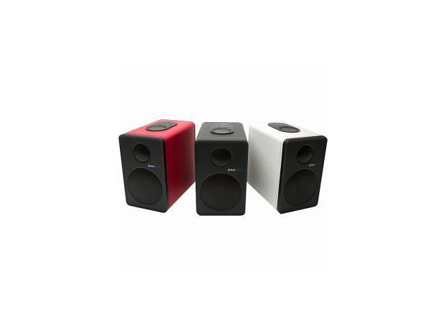 Grace Digital GDI-BTSP208 aptX Powered Bookshelf Bluetooth Speakers (Set of 2, White)