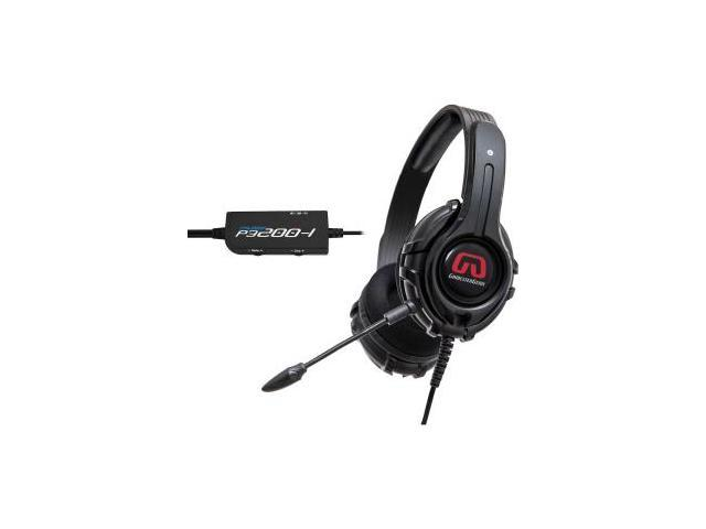 SYBA GamesterGear Cruiser P3200-I 3.5mm/ USB Connector Circumaural Stereo Headset