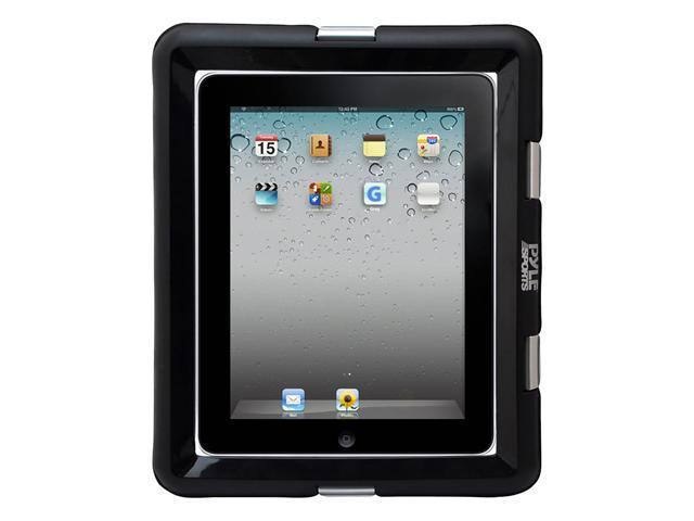 Universal Waterproof Sport Case with Headphone Jack - Fits all iPads and Many Other Tablet PCs and eReaders (Black)