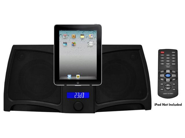 PyleHome - RBPIP711 - iPad/iPod/iPhone Digital 2 way Stereo Speaker System With 300 Watts, RemoteControl, Line-In