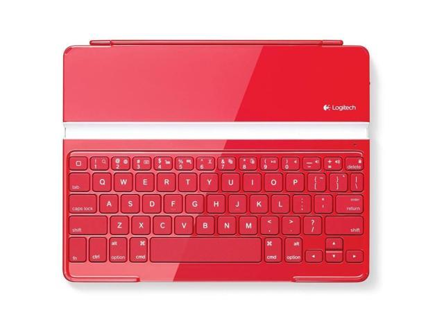Logitech Ultrathin Keyboard Cover Red for iPad 2 and iPad (3rd/4th generation)