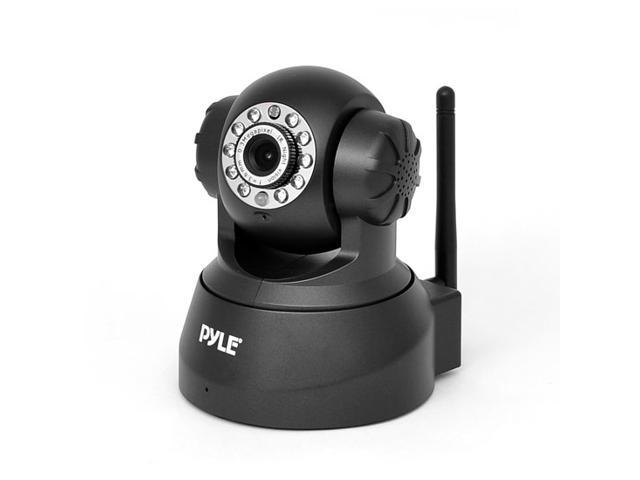 Pyle Wireless IP Camera, with P2P Network, Image Capture, Video Recording, Built-in Microphone and Speaker for Surveillance Security Monitoring, ...