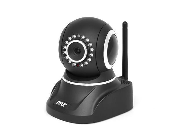 Pyle Indoor Wireless IP Camera, W/ H.264 MJPEG Video,P2P Network,SD Card Reader,Image Capture,Video Recording,Built-in Microphone & Speaker for ...