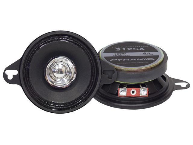 Pyramid - 3.5'' 100 Watts Two-Way Dual Cone Speakers