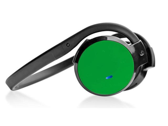 Pyle - Stereo Bluetooth Streaming Wireless Headphones with Built-in Microphone - Works with All Bluetooth-Enabled Phones & Devices (Green)