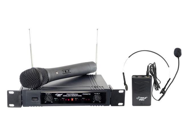 PylePro - Two Channels VHF Wireless Microphone