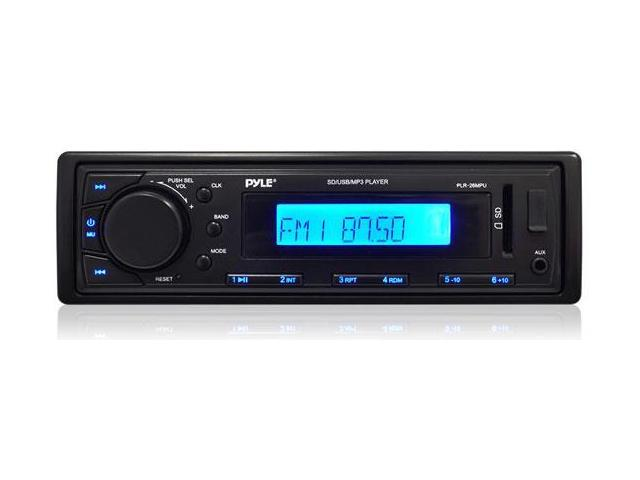 In-Dash Receiver with AM/FM Radio, AUX Input for iPod/MP3 Players & SD/USB Flash Readers