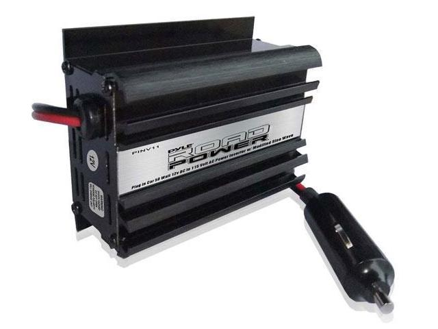 Plug in Car 50 Watt 12v DC to 115 Volt AC Power Inverter w/ Modified Sine Wave