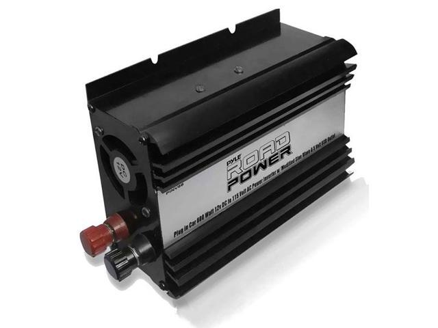 Plug in Car 600 Watt 12v DC to 115 Volt AC Power Inverter w/ Modified Sine Wave & 5 Volt USB Outlet