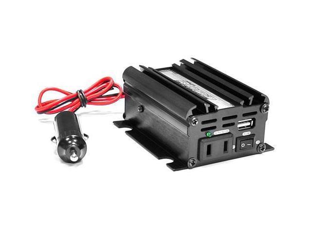 Plug in Car 100 Watt 12v DC to 115 Volt AC Power Inverter w/ Modified Sine Wave & 5 Volt USB Outlet