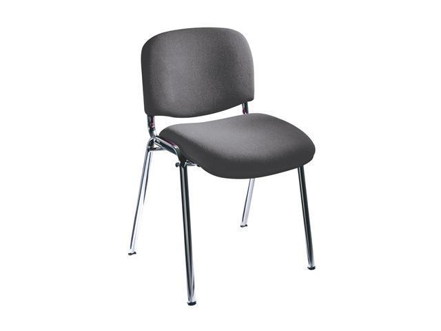 Safco 7400GR Visit Upholstered Stacking Chairs (Qty.2) 22