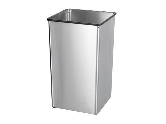 Safco 9663SS Stainless Steel 36-Gallon Receptacle Base 18