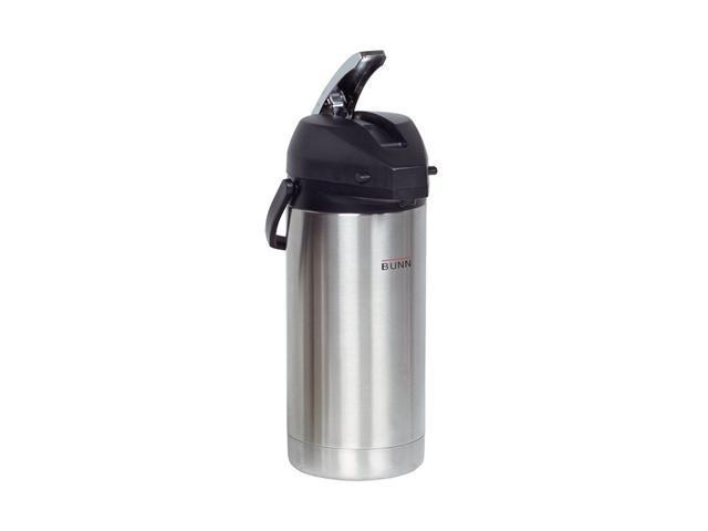 BUNN? 36725 3.8 Liter Lever-Action Airpot, Stainless Steel