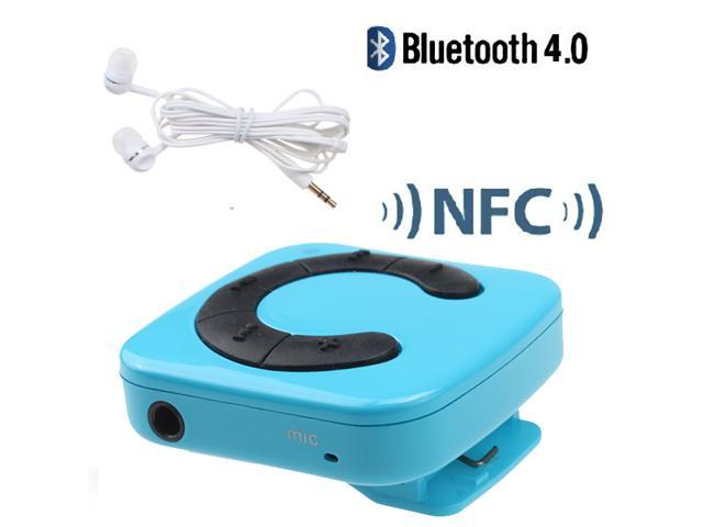 NFC-enabled Bluetooth Stereo Audio Music Receiver Adapter for iPhone iPad iPod Samsung