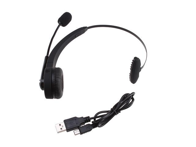 Wireless Bluetooth Headset for PS3, Samsung Galaxy S4, S3, S2, Note 2, Note, iPhone 5/ 4S/ 4G, Cell/ Smart Phone