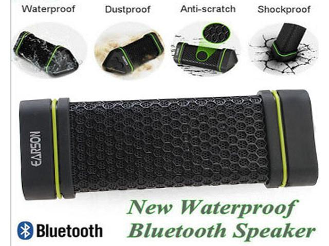 EARSON Waterproof Shockproof Wireless Bluetooth Speaker For iPod iPhone Smartphone PC