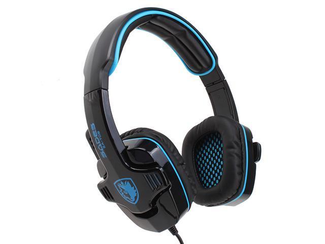 3.5mm Sades SA-708 Stereo Circumaural Gaming Headset w/ Hidden Microphone - Hi-Fi Driver