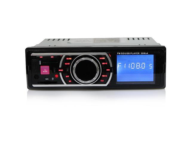 Car Vehicle Stereo MP3/WMA/USB/SD/MMC In-Dash Player Radio Receiver w/ FM Radio Stereo