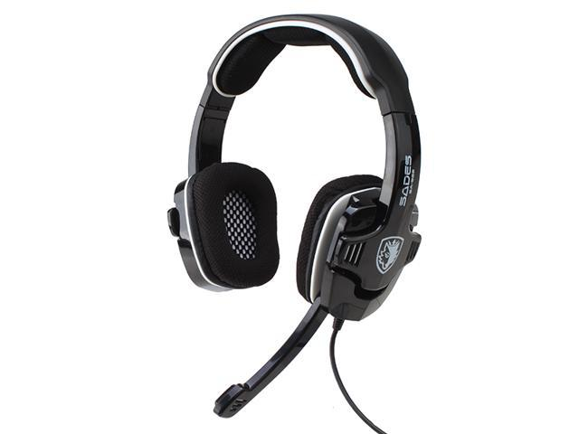 Sades SA-922 Circumaural USB Gaming Headset Headphone with Mic - Noise Cancellation, Volume Control