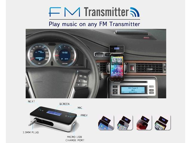 AGPtek Car FM Radio Transmitter for iPhone 5/4S/4 Samsung Galaxy s2/ s3/s4/Note 2