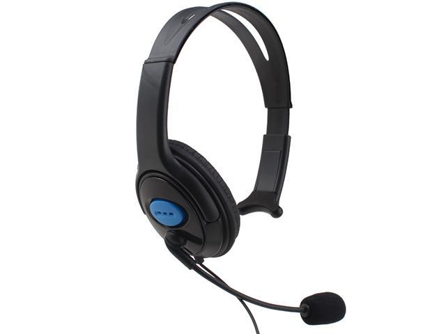 AGPtek Chat Communicator Gaming Headset w/ Mic for PlayStation 4/PS4