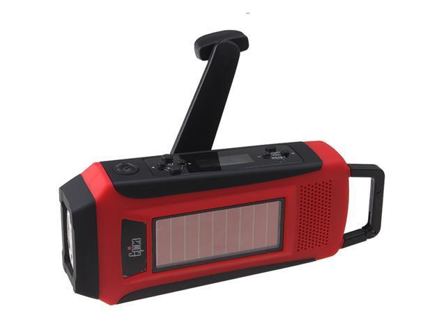 Emergency Survival Solar Hand Crank Self Powered AM/FM/WB/NOAA Digital Radio w/ Flashlight and USB Cell Phone/iPod/MP3 Charger