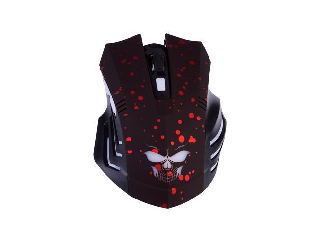 1600 Adjustable DPI 6 Buttons Wireless PC Laptop Gaming Mouse Mice for DOTA Games