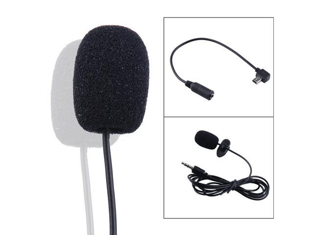 AGPtek Professional Mini USB External Microphone with Collar Clip for GoPro Hero 3 3+ 4