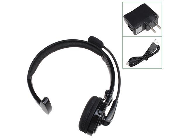 Headfree Noise-Cancelling Bluetooth Headset with Microphone for Apple Devices Support A2DP AVRCP Voice-Dial/Mute