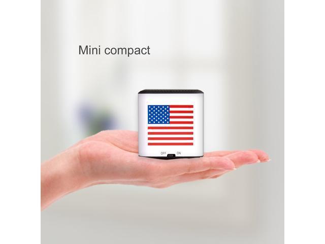 AGPTEK® Portable Wireless Bluetooth Speaker, CSR 4.0 Chipset, 1 Year Warranty, Built-in Mic, Pocket Size, Enhanced Bass Resonator, Powerful ...