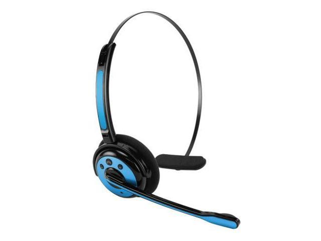 Universal Cellet Blue Wireless Bluetooth Headset with Boom Microphone - 800768679476