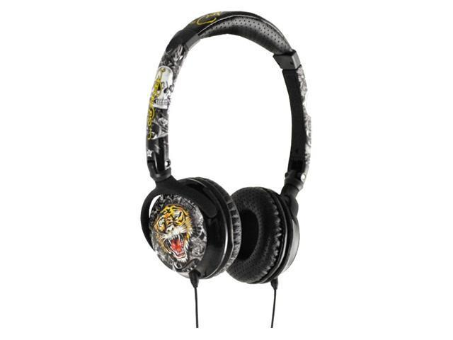 Ed Hardy 3.5mm Stereo Headphone - Tiger