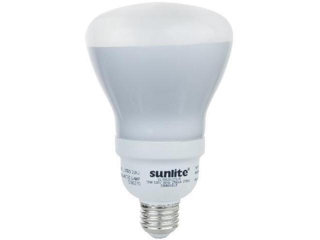 SUNLITE 15W 120V R30 Warm White Compact Fluorescent Dimmable Reflector Light Bulb