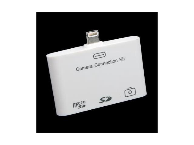 3 in 1 USB TF SD Camera Connection Kit Card Reader Adapter for iPad 4 iPad Mini #10836#