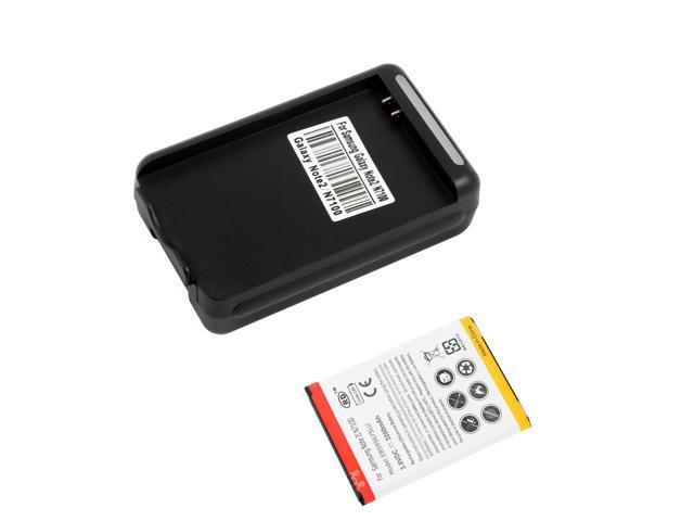 USB Dock Wall Battery Charger + 3200mah Battery For Samsung Galaxy Note 2 N7100