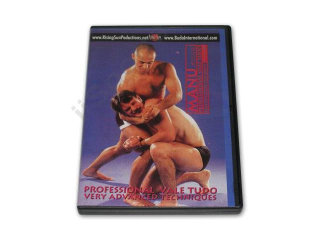 Professional Vale Tudo Very Advanced Techniques DVD Manu M-13 jiu jitsu mma M-136