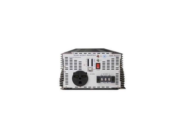 AIMS 7000 Watt 48 Volt DC Power Inverter to 240Vac 60hz Industrial Grade