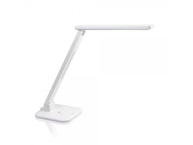 Satechi Smart LED Desk Lamp with Smart Phone Charger (White)